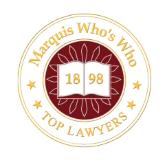 Marquis Who's Who award for the personal injury attorney at Stern Law firm in Queens New York