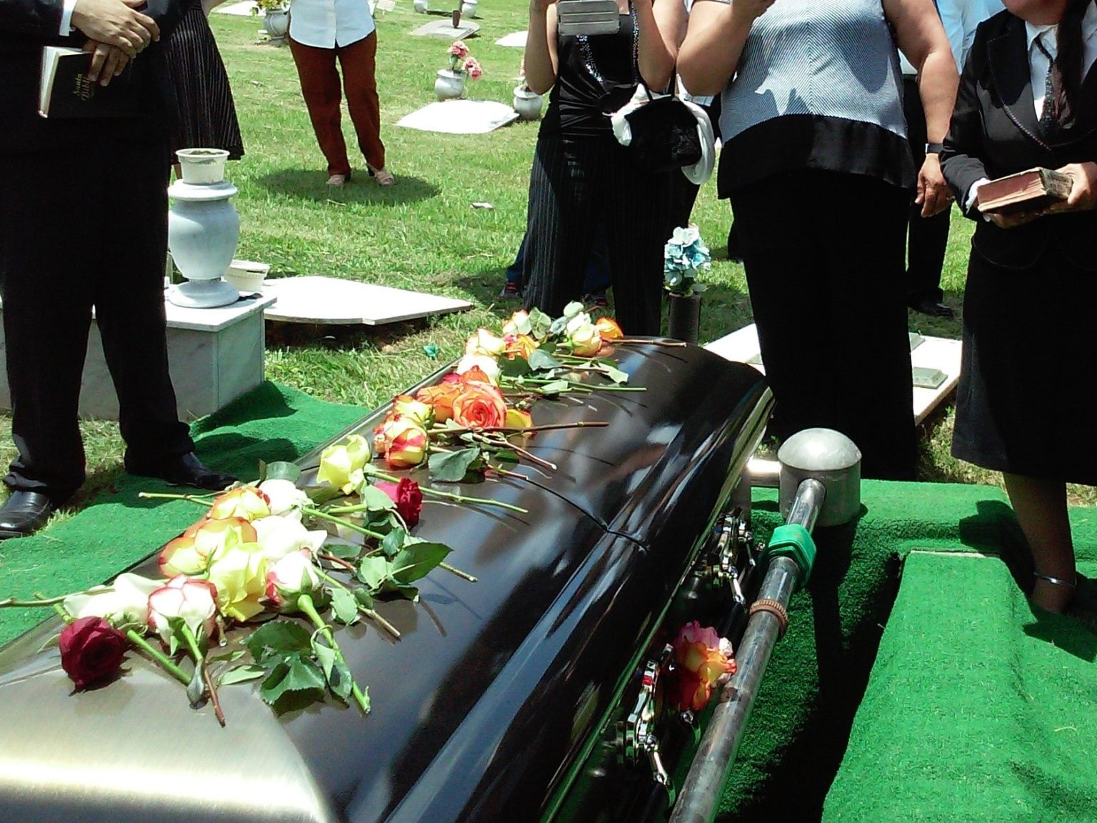 Family grieving from the wrongful death of there relative due to severe a car accident injury in Suffolk County New York.