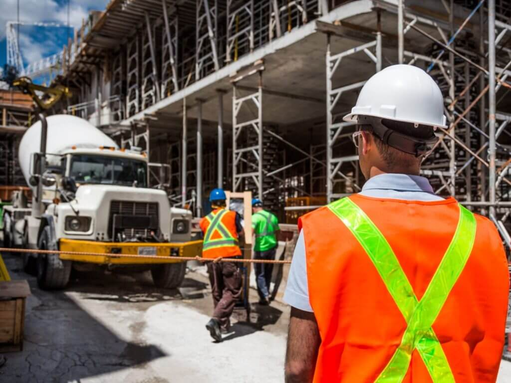 construction site safety to prevent workplace accidental injuries